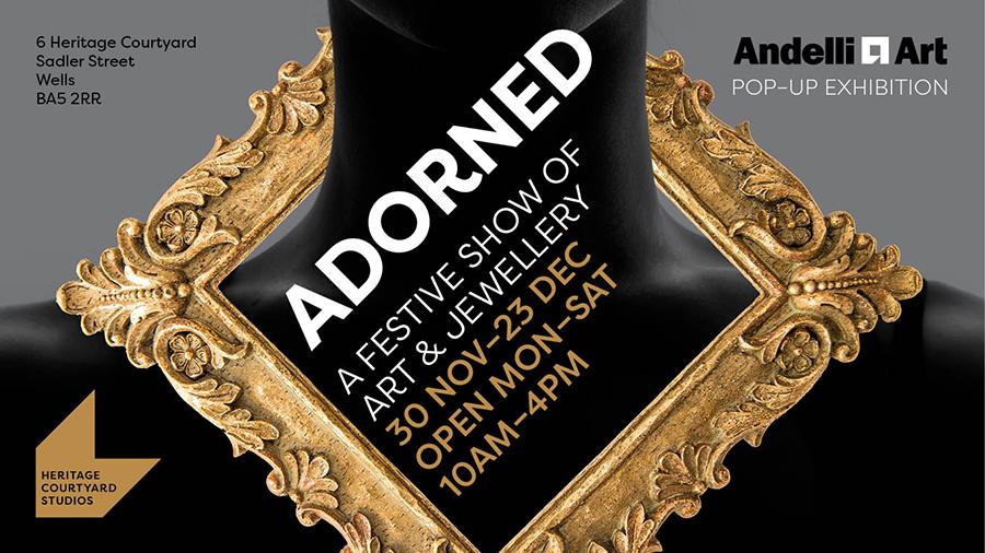 andelli art pop up homepage
