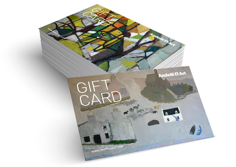 andelli art gift cards