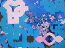Blossom acrylic on canvas 90 x 122 cm 2014