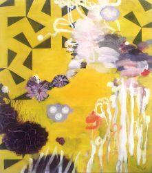 Compositae 81 x 71 cm oil on canvas 9078
