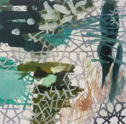 Forest Study, 2013 gouache, 18 x 18cm1a