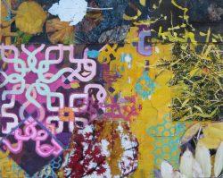 October gouache collage ad photo 23 x 29 cm  2013