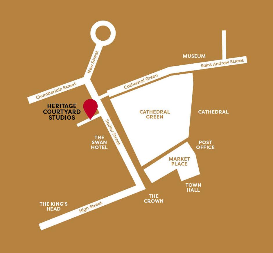 ADORNED show map