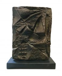 Bronze early relief margaret lovell