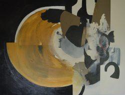 Quarry III, Acrylic and mixed medium on canvas 00 -16 122cm, 91cm