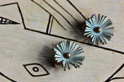 50s flower earrings 2