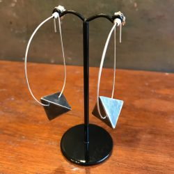 penny price pyramid earrings