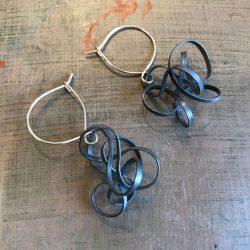 penny price twist earrings