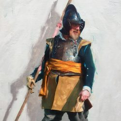 Daniel Sequeira soldier painting