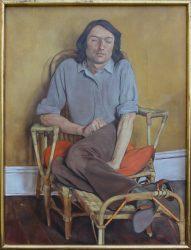 Michael Taylor b1952 self portrait