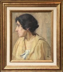 french school portrait c1910