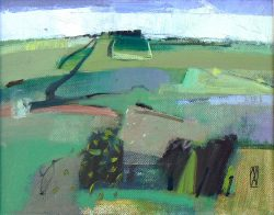 East Quantoxhead, March 2016 oil on canvas 19x24cm_£800