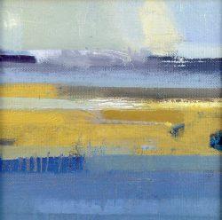 'lagoon' oil on canvas 16x16cm £400