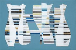 Morag Ballard-ALGORITHM-Oil on canvas_16 x 24ins