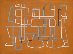 Morag Ballard-DATASCAPE (PM)_Oil on canvas-30 X 40ins
