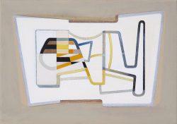 Morag Ballard-LABYRINTH-Oil on canvas-12 X 14ins