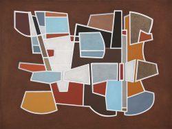 Morag Ballard-PIETRA DURA-Oil on canvas 30 x 40ins