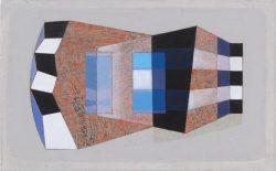 Morag Ballard-SCALA-( Avenue )_Oil on board_5 x 8ins