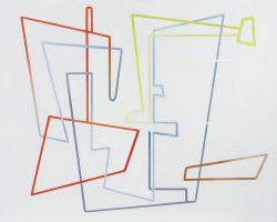 Morag Ballard_LABYRINTH III__Oil on canvas_24 x 30ins