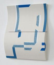 Morag Ballard_MODULE-Oil on shaped board-16 X 20ins