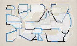 Morag Ballard_SKYDRIVE_Oil on canvas_18 x 30ins