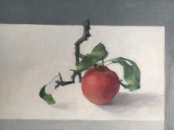 jason line apple painting