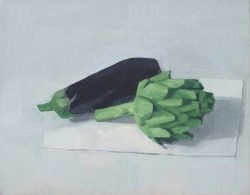jason line aubergine and artichoke