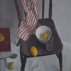 jason line chair with lemons