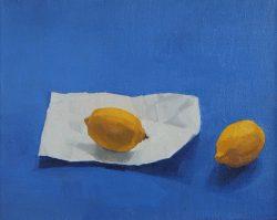 jason line lemon on blue