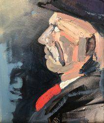 Steve Burden portrait 1
