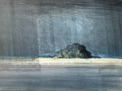 circling the island-watercolour and pencil-28x38cm-£800