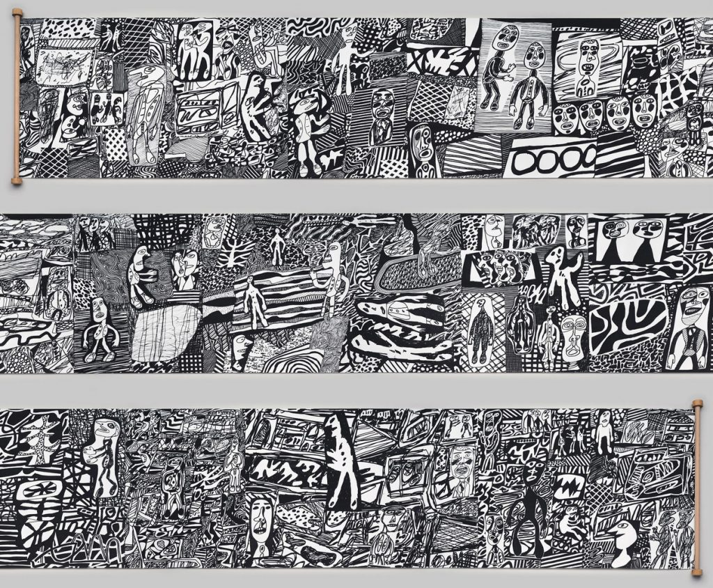 dubuffet scroll