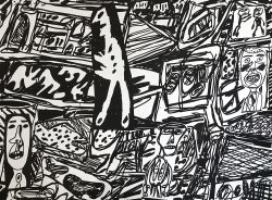 jean dubuffet scroll for sale 2