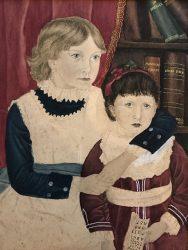 unattributed portrait two girls
