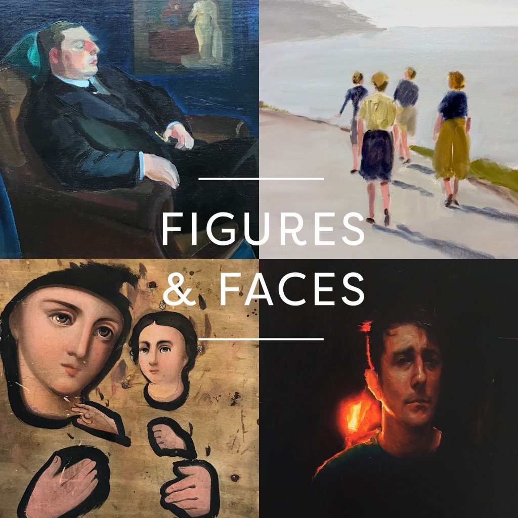 figures and faces andelli art