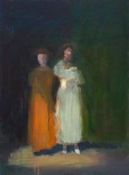 David Storey figures dusk