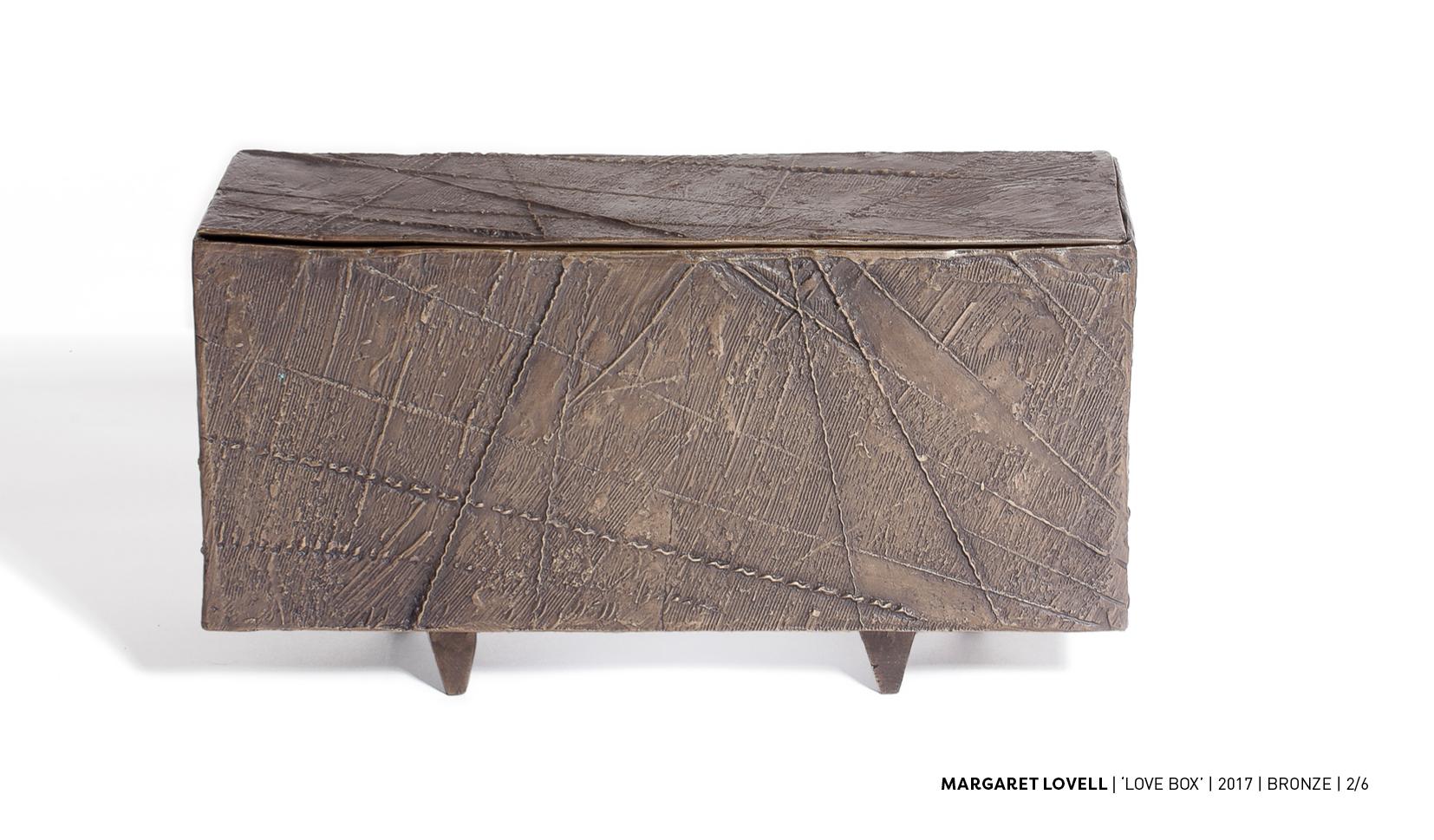 magraret lovell bronze box
