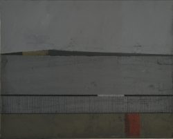 stuart mcharrie red bin painting for sale