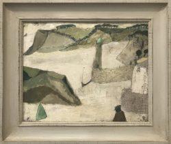nicholas turner green harbour painting
